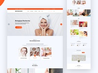 Landing Page Spa & Beauty