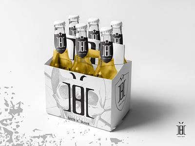 Heels n' Bones illustrator typography vector mikeadv logo graphic design branding