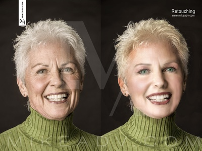 From old to young design graphic design compositing mikeadv
