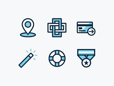 Dribbble Icons 01