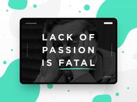 Lack of Passion...