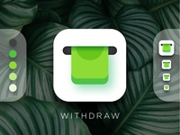 Cash Withdrawal App Icon
