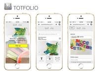 Totfolio - a private art gallery for children