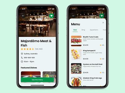 Food/Drink Menu - Dayli UI 043 mobile ui minimal app design