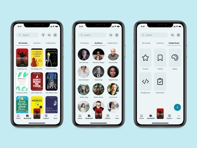 Favorites - Dayli UI 044 mobile minimal app ui design