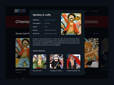 Info Card - Daily UI 045 desktop web minimal ui app design