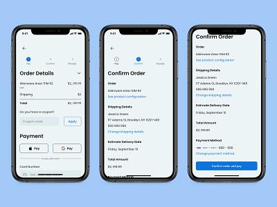 Confirmation - Daily UI 054 mobile minimal ui app design