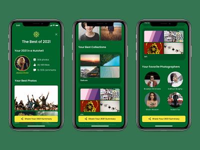 Best of 2021 - Daily UI 063 mobile minimal ui app design