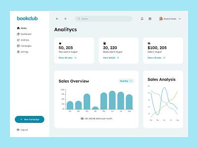 Statistics - Daily UI 066 desktop web minimal ui app design