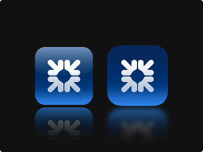 Icon Play icon ios 6 7 rbs blue practice