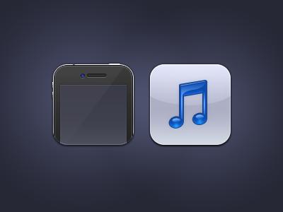 Music Phone ios theme iphone icon option² 2 phone music blue camera ding