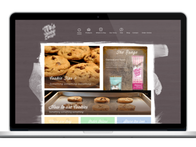 Cookie Website