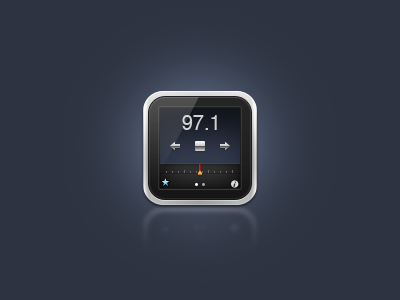 iPod Alternative idea  icon ipod nano radio music
