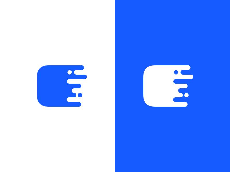 IconPress Logo project uni iconpress melt blue logo icon