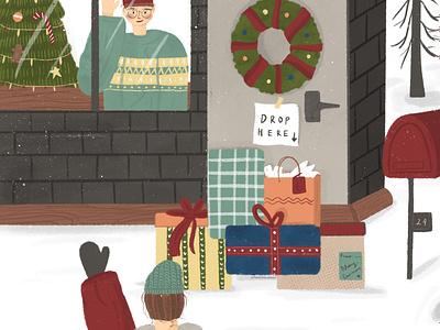 Christmas 2020 illustration art illustrations illustrator illustration comic design characters characterdesign characterart
