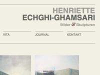 Portfolio Site for an Artist