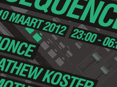 SEQUENCE Poster WIP Extra sneak peek