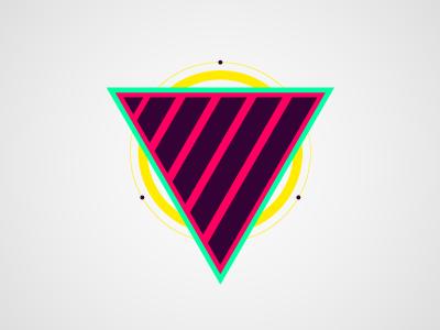 Mystery Project mystery vector neon wip capsz vivid geometric