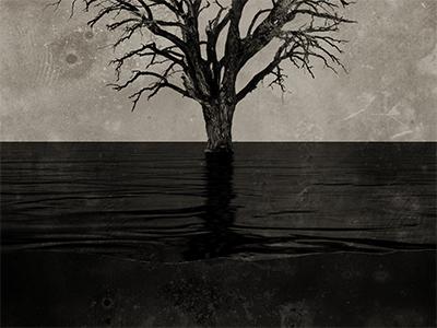 WRAF Album Art (WIP) album art dark water muddy grunge photoshop capsz surreal texture wip cover sepia