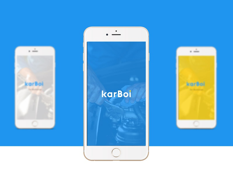 Karboi Mobile App For On Demand Car Repair Service By Yugant