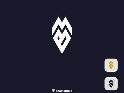 MB logo ux vector ui illustration icon flat app logo design branding