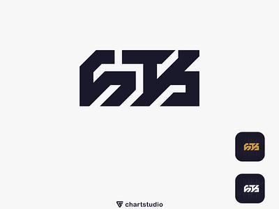 STK logo logo grid mark simple ui ux vector illustration icon flat app logo design branding