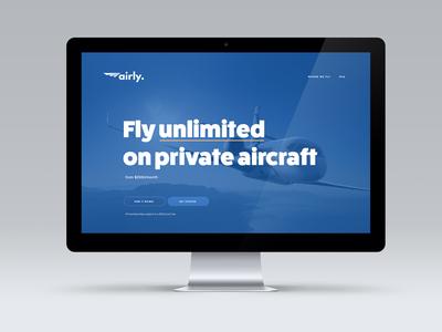Airly Website Redesign slush startup product funsize app