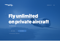 Airly website redesign