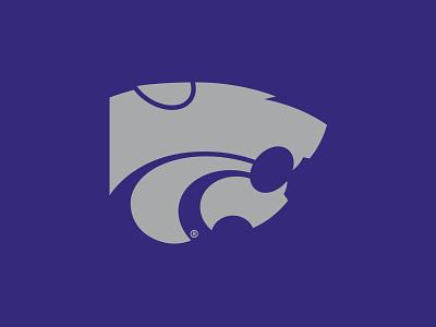 K-State WIP football ncaa big 12 emaw purple athletics power cat k-state kansas state