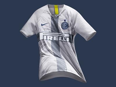 FC Internazionale Milano's 2018 Third Kit milan inter apparel soccer football nike