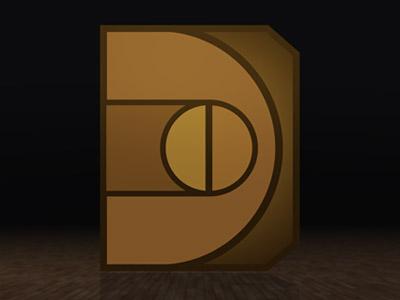 Dribbble dc icon
