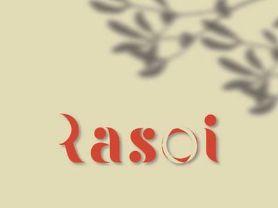 Rasoi - Indian food cooking App Logodesign branding graphic design logo