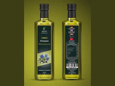 Label design graphic design