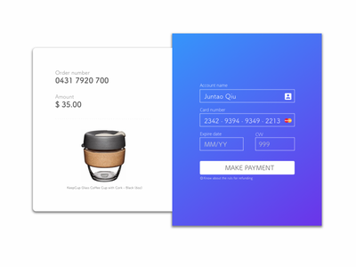 payment credit card information 002