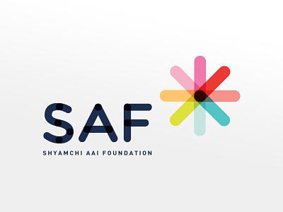 Non Profit Organisation Logo charity connecting ngo nonprofit branding logo
