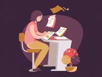 Instructional Designer Illustration