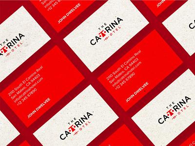 The Catrina Hotel mockup design logo design logo mark visual identity ui design logo illustration design system branding agency branding brand identity brand