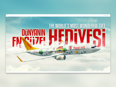 Pegasus Airlines The World's Most Wonderful Gift