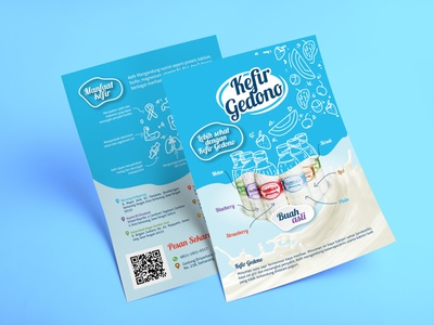 Yogurt Advertising Design adobe photoshop adobe illustrator advertising flyer advertising design advertising branding agency branding brand identity vector illustration design