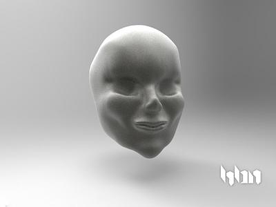 Female Face hbn female face sculpture 3d mexico
