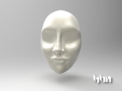 Female Face #1 sculpture mexico hbn female face 3d