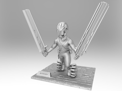 XR Project sculpture characterdesign 3d