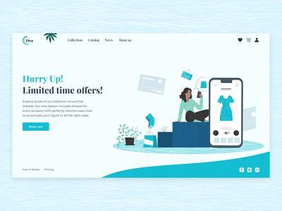 Promo Landing Page uiuxdesign promotion page promo landing page landing promotion illustration logo ui product design design interface