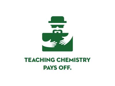 Heisenberg  heisenberg logo icon design illustration green negative space walter white chemistry breaking bad