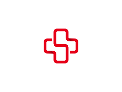 s cross logo design for a website about health by dalius