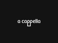 A Cappella Logo Design