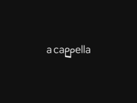 A Cappella Logo Design 2