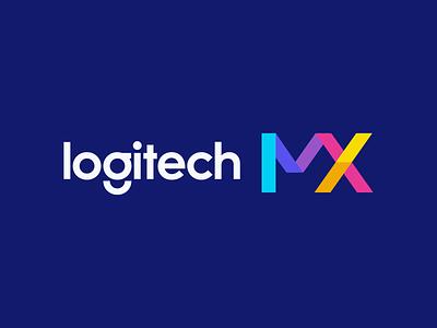 Logitech MX t h e q u i c k b r o w n f o x j u m p e d o v e r l a z y d o g branding and identity design branding logo design logo