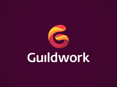 Guildwork Logo Design business cards stationery online mmorpg network social guild game gaming design graphic design designer icons icon identity branding brand logo