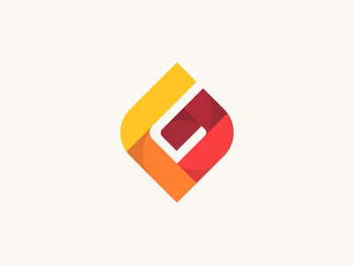 G Logo Design t h e q u i c k b r o w n f o x j u m p e d o v e r l a z y d o g crypto fintech blockchain mobile app symbol modern colorful 3d geometric geometry monogram graphic design designer design identity branding brand icons icon logo